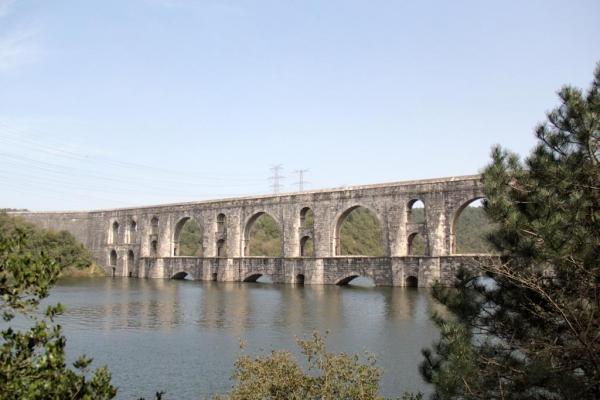 Aqueduc de Mağlova, barrage d'Alibeyköy, Istanbul