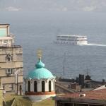 Le dôme de l'église russe Saint-André d'Istanbul
