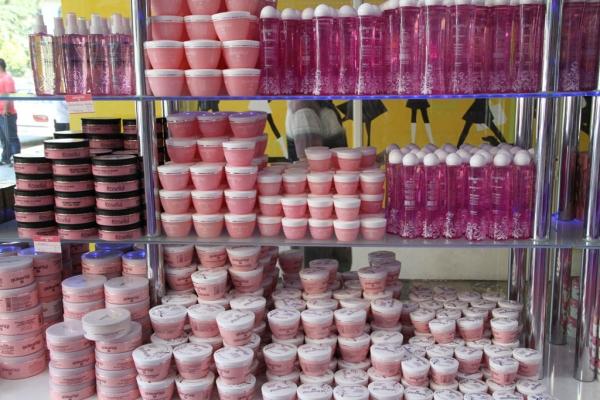 produits cosmétiques à la rose d'Isparta