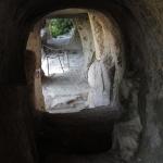 Dans les grottes monastiques d'Inceğiz