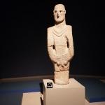 Statue du néolithique pré-céramique trouvée à Urfa, musée archéologique de la ville