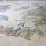 Une des amazones, musée Haleplibahçe de Şanlıurfa