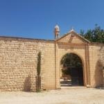 Entrée de l'église syriaque de la Vierge Marie, village de Hah