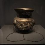 Lampe à huile syrienne de 1090, musée des arts turcs et islamiques d'Istanbul