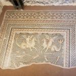 Mosaique d'Hippocampe et Eros, musée d'Adana