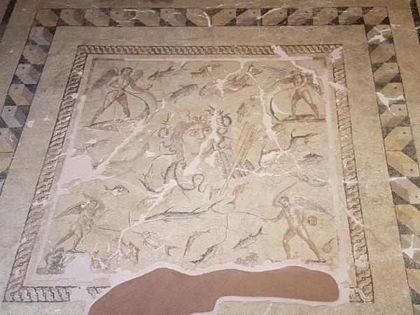 Mosaique de Téthys, musée d'Adana