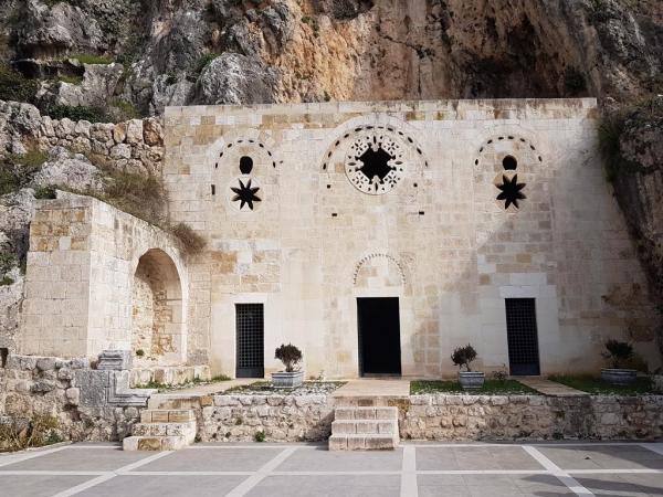 L'église-grotte de Saint-Pierre à Antioche
