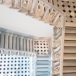 L'escalier monumental de SALT Galata à Istanbul