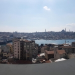 Un des points de vue de SALT Galata