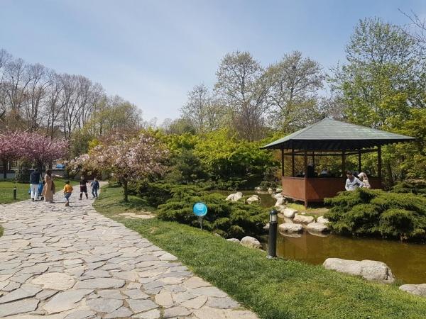 jardin japonais de Baltalimanı à Istanbul
