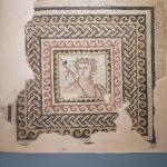 Buste de Dionysos, musée de Zeugma à Gaziantep