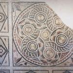 Mosaique géométrique, musée de Zeugma, Gaziantep