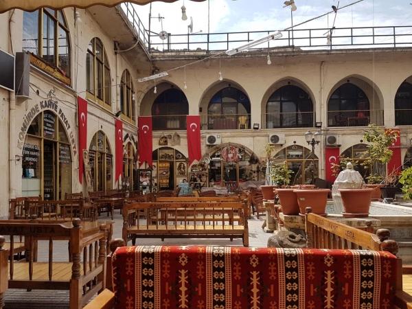 Dans le Yenihan de Gaziantep