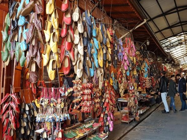 Les yemeni, chaussures en cuir souple de Gaziantep