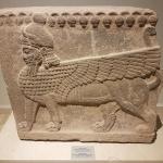 Orthostate de sphynx de l'époque hittite, musée archéologique de Gaziantep,