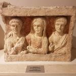 Stèle funéraire de Nizip, musée archéologique de Gaziantep