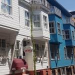 Maisons colorées, quartier de Yeldeğirmen, Kadıköy