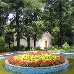 Dans le parc de l'arboretum Atatürk à Termal