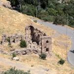 Ruines visibles du haut de la citadelle de Harput-Elazığ