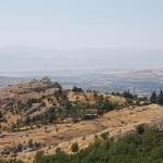 Vue sur Elazığ de la citadelle de Harput