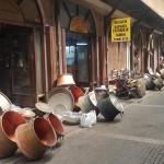 Dans le marché aux cuivres de Malatya