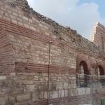 Murs du palais-musée Tekfur à Istanbul