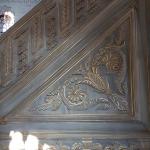 Détail du minbar de la mosquée Nusretiye à Tophane-Istanbul
