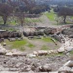 Du haut du théâtre antique de Teos