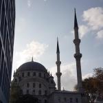 Mosquée Nusretiye à Tophane-Istanbul