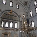Salle de prière de la mosquée Nusretiye à Tophane-Istanbul