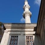 Un des minarets de la mosquée Nusretiye à Tophane-Istanbul
