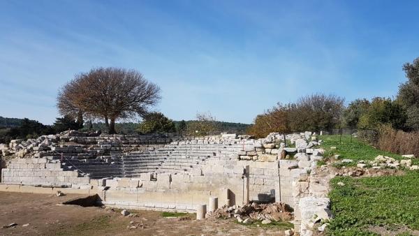 Bouleutérion de Teos, région égéenne