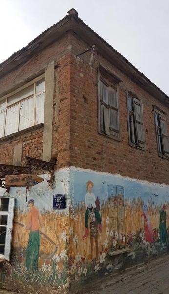 Une demeure typique du village d'Ulamış