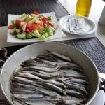 Buğalama d'anchois, une spécialité de Giresun