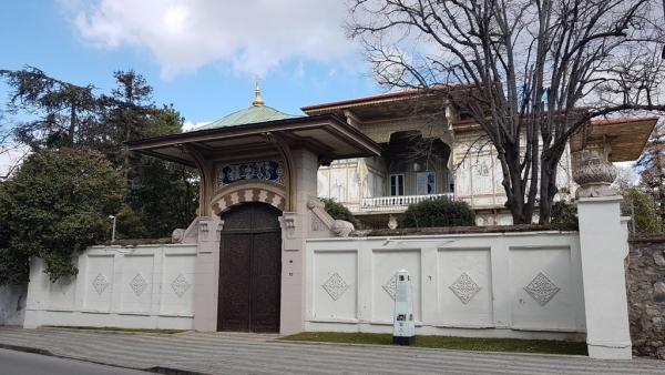 Le kiosque Abdulmecit efendi à Kuzguncuk-Üsküdar